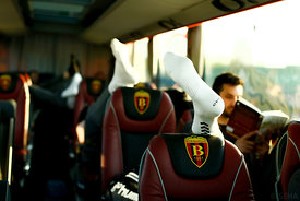 Vardar during the Final Tournament - Final Four - SEHA - Gazprom league, team arrival in Varazdin, Croatia, 30.03.2016, ..Mandatory Credit ©SEHA/Stanko Gruden