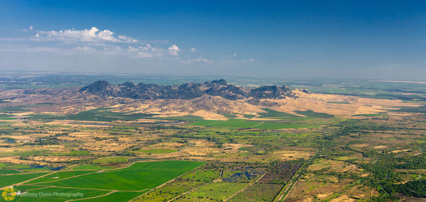 Aerial View of the Sutter Buttes #1