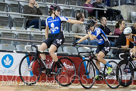 Cat 1 Women Scratch Race, 2016/2017 Track O-Cup #1, Mattamy National Cycling Centre, Milton, On, December 4, 2016