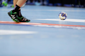 Ball during the Final Tournament - Final Four - SEHA - Gazprom league, Bronze Medal Match Meshkov Brest - PPD Zagreb, Belarus, 09.04.2017, Mandatory Credit ©SEHA/ Stanko Gruden..