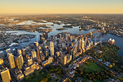 Morning Light over Sydney