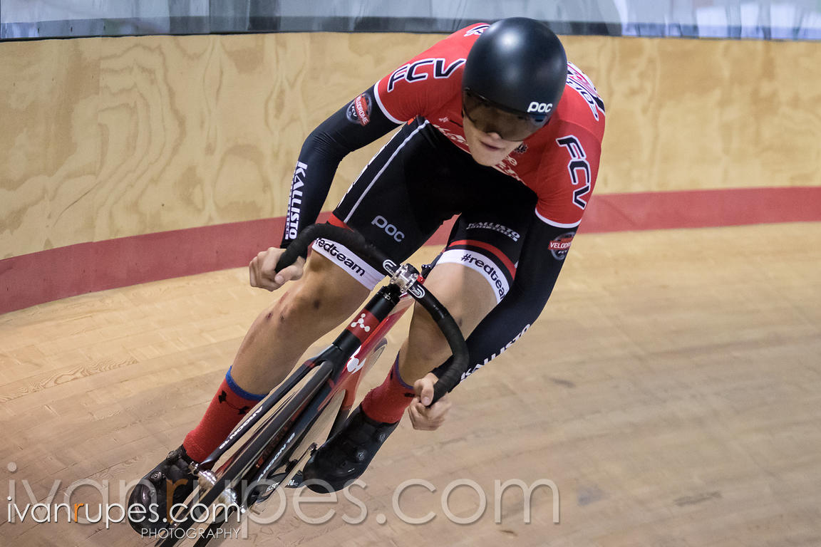 Junior Men Omnium Flying Lap. Milton International Challenge, Mattamy National Cycling Centre, Milton, On, October 1, 2016