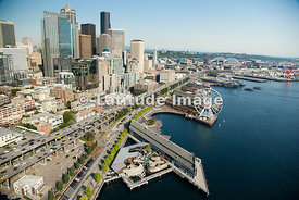 Downtown Skyline and Waterfront, Seattle