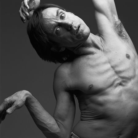IGGY POP,  NYC 1990