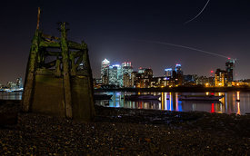 London2016_CanaryWharf_Lowtide_January_013