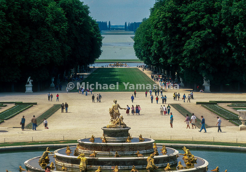 Palace and Park of Versailles, France