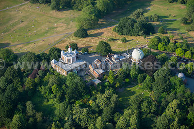 Aerial view of the Royal Observatory, Greenwich, London