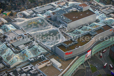 Aerial view of Westfield, Shepherd's Bush, London