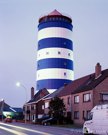 Watertower Bredene, no. 12