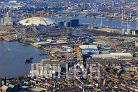Aerial Photography Taken In and Around Greenwich, London