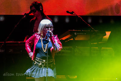 Debbie Harry, vocals, Blondie, TBD Fest, Sacramento 2014