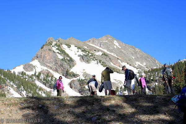 Hike to Mount Bancroft and Parry Peak Photos