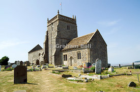 St Nicholas Church, Uphill, Weston-Super-Mare, Somerset, England.