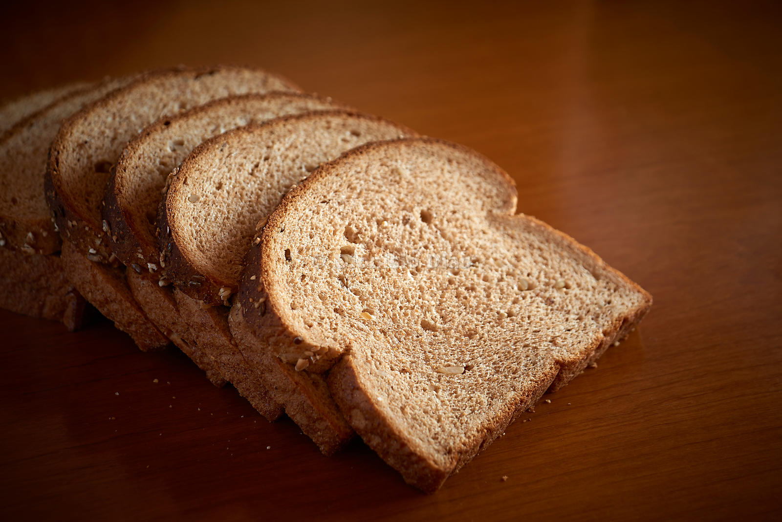 Photo of slices of whole bread