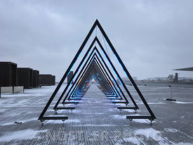 The Wave - A beacon of light in the city of winter