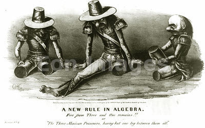 Prisoners after amputations from injuries in Mexican-American War
