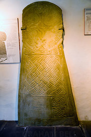 Cross of Einion Late Ninth Century, Margam Stones Museum, Neath Port Talbot, South Wales, UK.