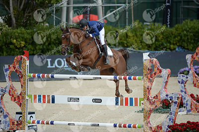 Janika SPRUNGER ,(SUI), ARIS CMS during Queen's Cup - Segura Viudas Trophy competition at CSIO5* Barcelona at Real Club de Polo, Barcelona - Spain