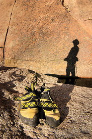 La Sportiva rock climbing shoes