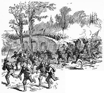 Civil War: struggle at Antietam