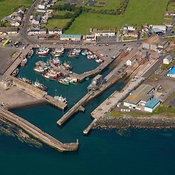 Portavogie aerial photos
