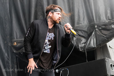 Caleb Shomo, vocals, Beartooth