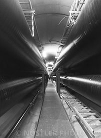 District heating tunnel