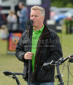 Johnny Herbert - Rockingham Castle International Horse Trials 2016