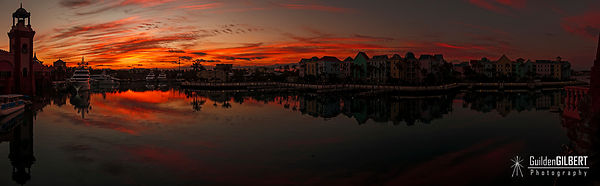 Marina Village - Sunrise Pano
