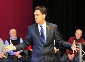 The Leader of the Labour Party Ed Milliband