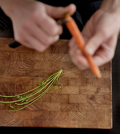 Cutting carrots #6
