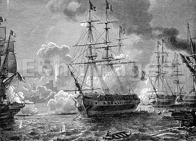 Mexican-American War: Bombardment of San Juan D'Ulloa