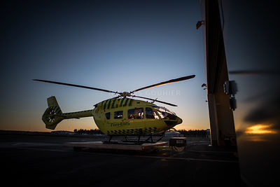 FINNHEMS H145.Oulu, Finland..Nicolas Gouhier/Airbus Helicopters