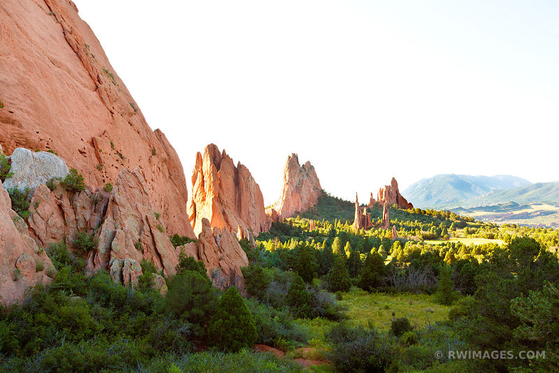 GARDEN OF THE GODS COLORADO SPRINGS COLORADO COLOR