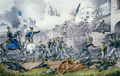 Storming of Monterrey during Mexican-American War