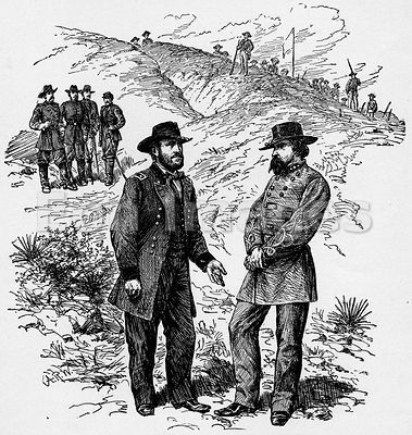 Civil War: Grant and Pemberton at Vicksburg