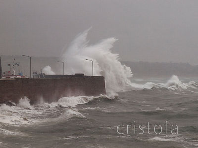June storm in Penzance
