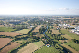 photo aerienne de Saint Georges de Montaigu