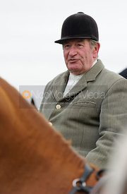 Michael Stokes at the meet - The Cottesmore Hunt at Toft 27/10