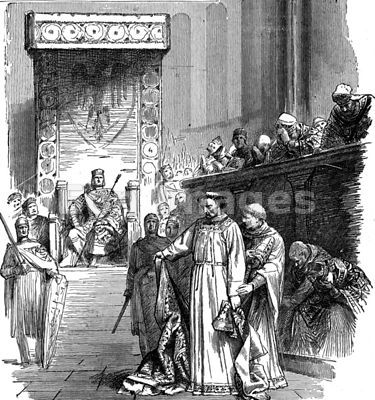 Henry III presides at Synod of Sutri