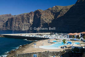 Los Gigantes and Los Gigantes  cliffs, Tenerife, Canary Islands, Spain