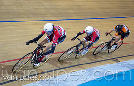U17 Men's Team Sprint Final. 2015 Canadian Track Championships, October 9, 2015