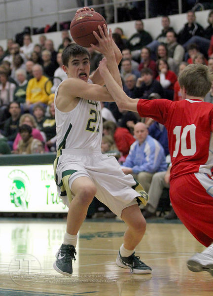 Iowa City West vs Dubuque Senior Boys Basketball 1/31/12