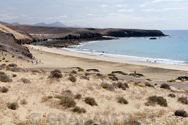 Calleta Del Congrio beach, Papagayo Peninsula, Playa Blanca, Lanzarote, Canary Islands, Spain.