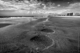 Wrightsville Beach in B&W