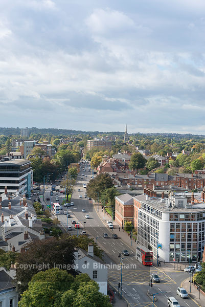 The Hagley Road, Edgbaston, Birmingham, England