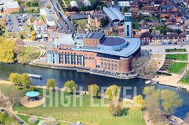 Aerial Photography Taken In and Around Stratford-upon-avon-Royal Shakespeare Theatre