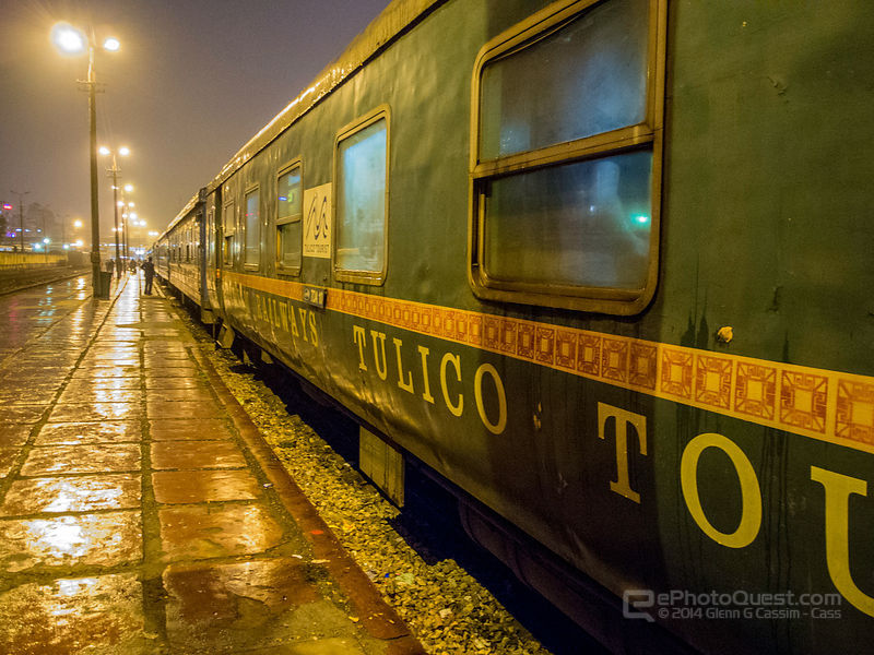 Train at Lao Cai Train Station