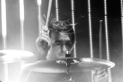 Matthew Nicholls, drums, Bring Me The Horizon