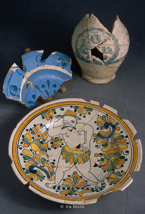Havana Treasure Fleets- Big Plate, Jar and Small Plate from the New World